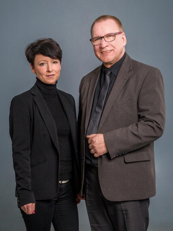 Ihre Ansprechpartner Nadine Gloger-Hofmann und Frank Drobny